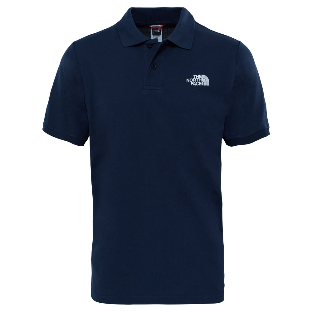 The North Face Mens Polo Piquet T-Shirt Urban Navy White - Mens from ... cb7aa5fde