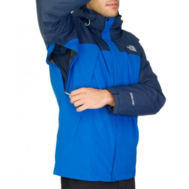 The North Face Mens Primavera II Triclimate Jacket Snorkel Blue ... 4bf2241783cc