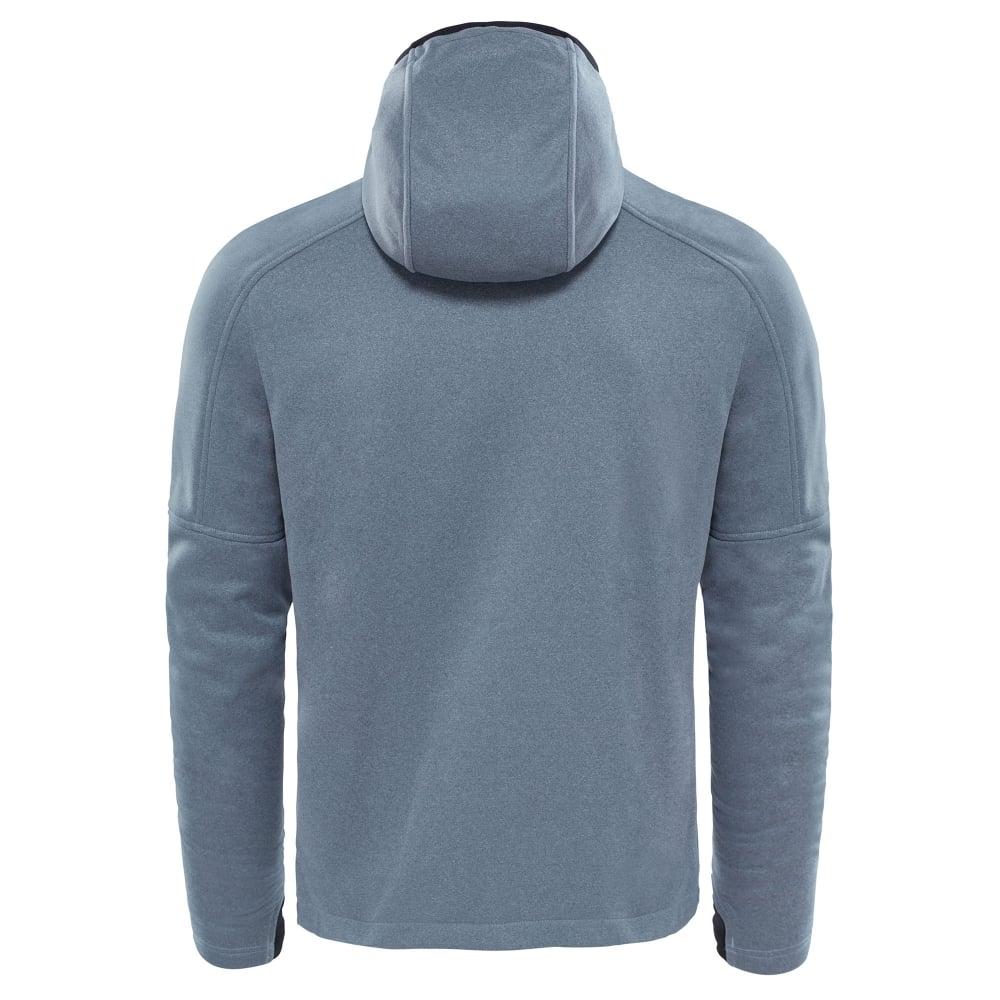 17914c544 The North Face Mens Rafford Full Zip Fleece Hoodie TNF Medium Grey