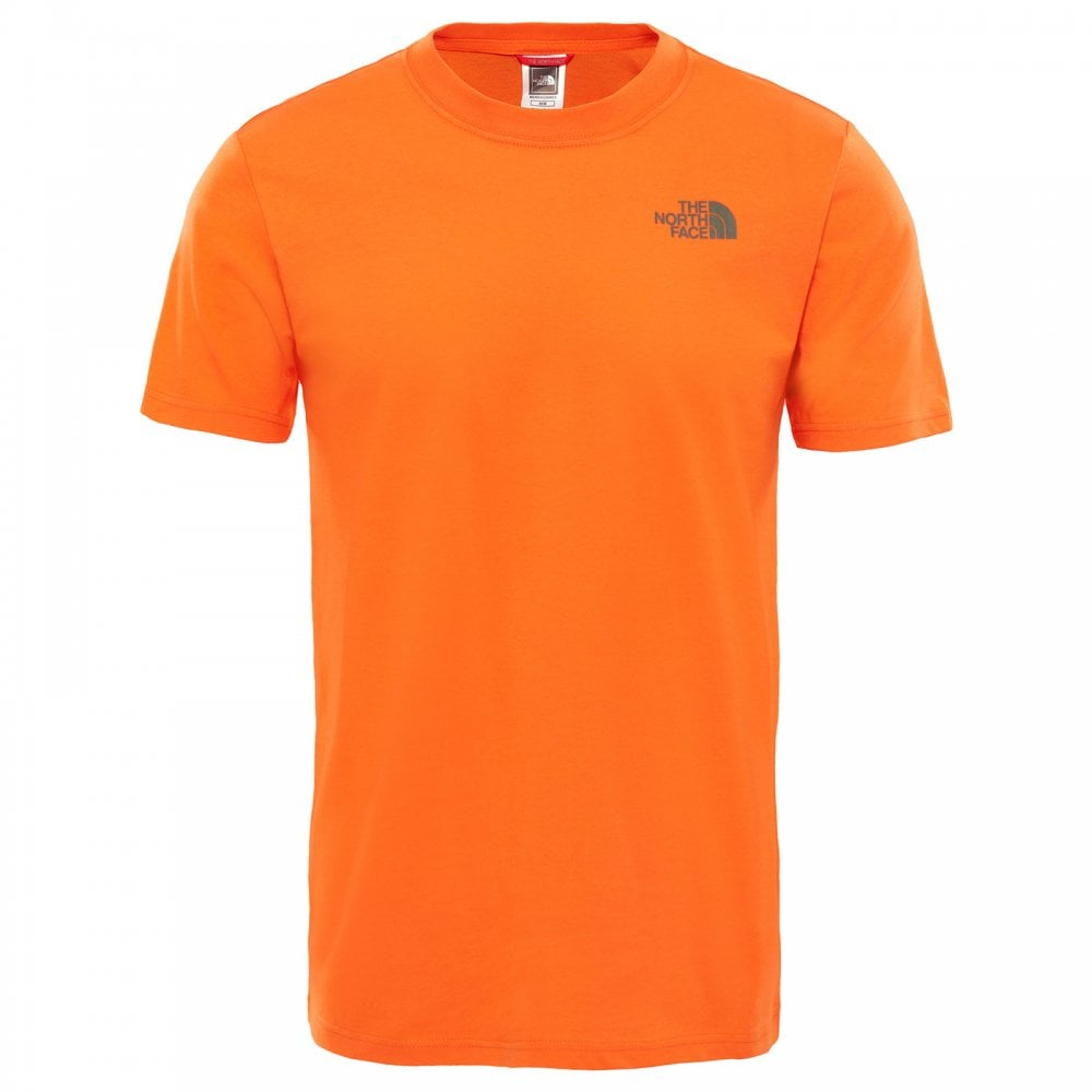 bc8298ecb Mens Redbox Celebration T-Shirt Persian Orange