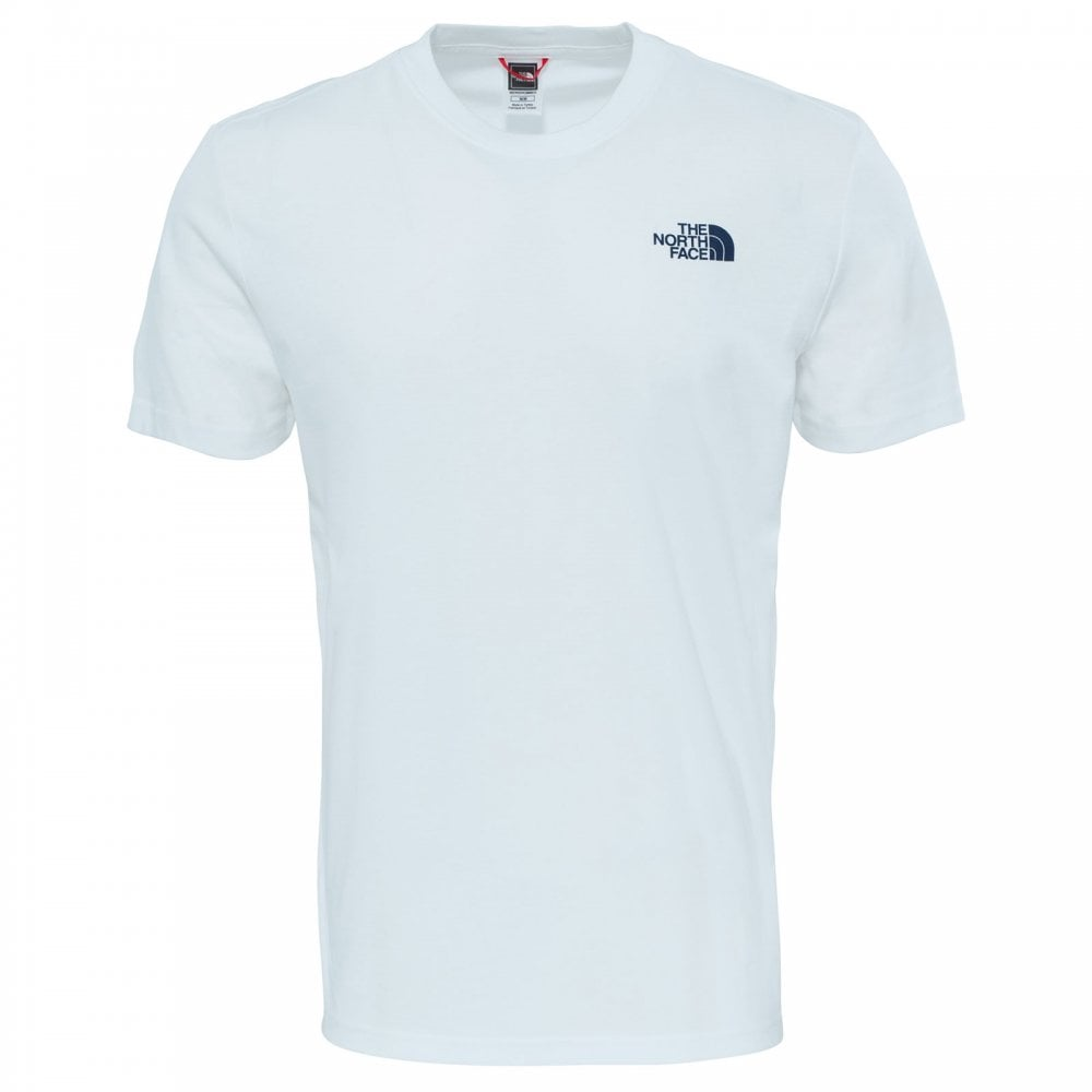 901c9b7e3 Mens Redbox Celebration T-Shirt TNF White/Urban Navy