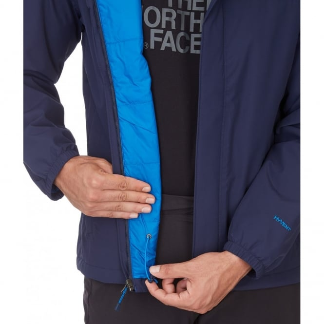07587cc22 The North Face Mens Resolve Insulated Jacket Cosmic Blue