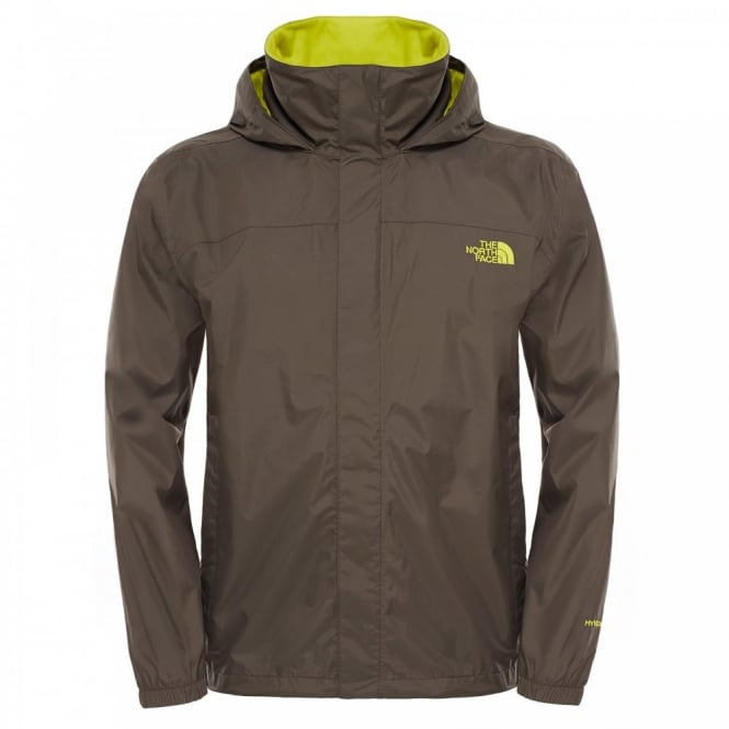 1611db1a49ab The North Face Mens Resolve Jacket Black Ink Green - Mens from Great ...