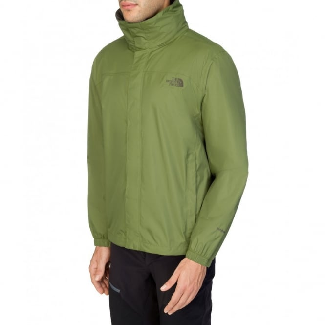 80f855a28d37 The North Face Mens Resolve Jacket Scallion Green