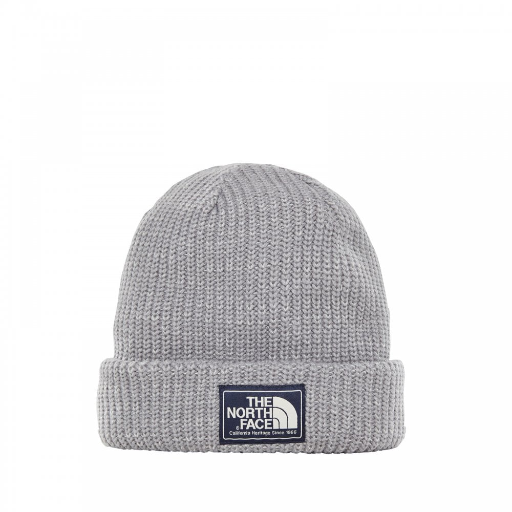 0f278626 The North Face Mens Salty Dog Beanie Mid Grey/Tin Grey - Mens from ...