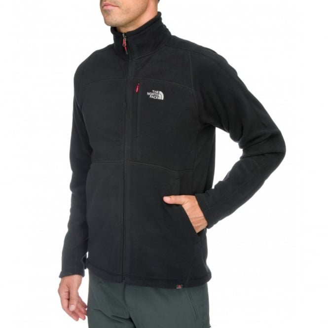 473dbc5a7f26 The North Face Mens Shadow 200 Fleece Jacket Black