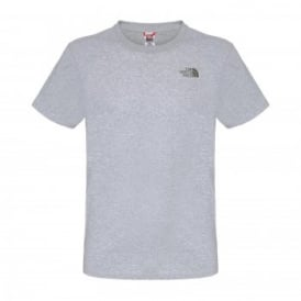 Mens Short Sleeve Simple Dome Tee Heather Grey