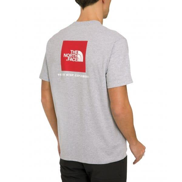 Mens Short Sleeve T-Shirt Heather Grey