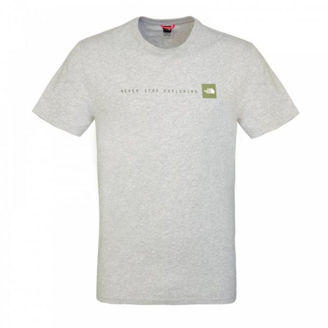 cddca9dcb Mens Short Sleeve T-Shirt Heather Grey