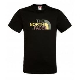 Mens Short Sleeve T-Shirt TNF Black