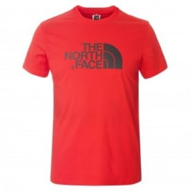 Mens Short Sleeve T-Shirt TNF Red
