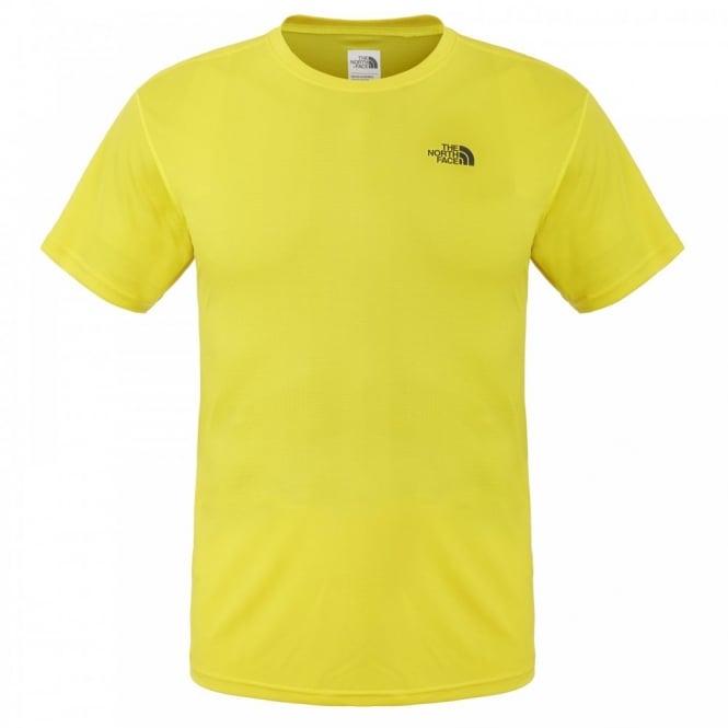 a89c62a6e The North Face Mens Solid Flex Short Sleeve T-Shirt Acid Yellow