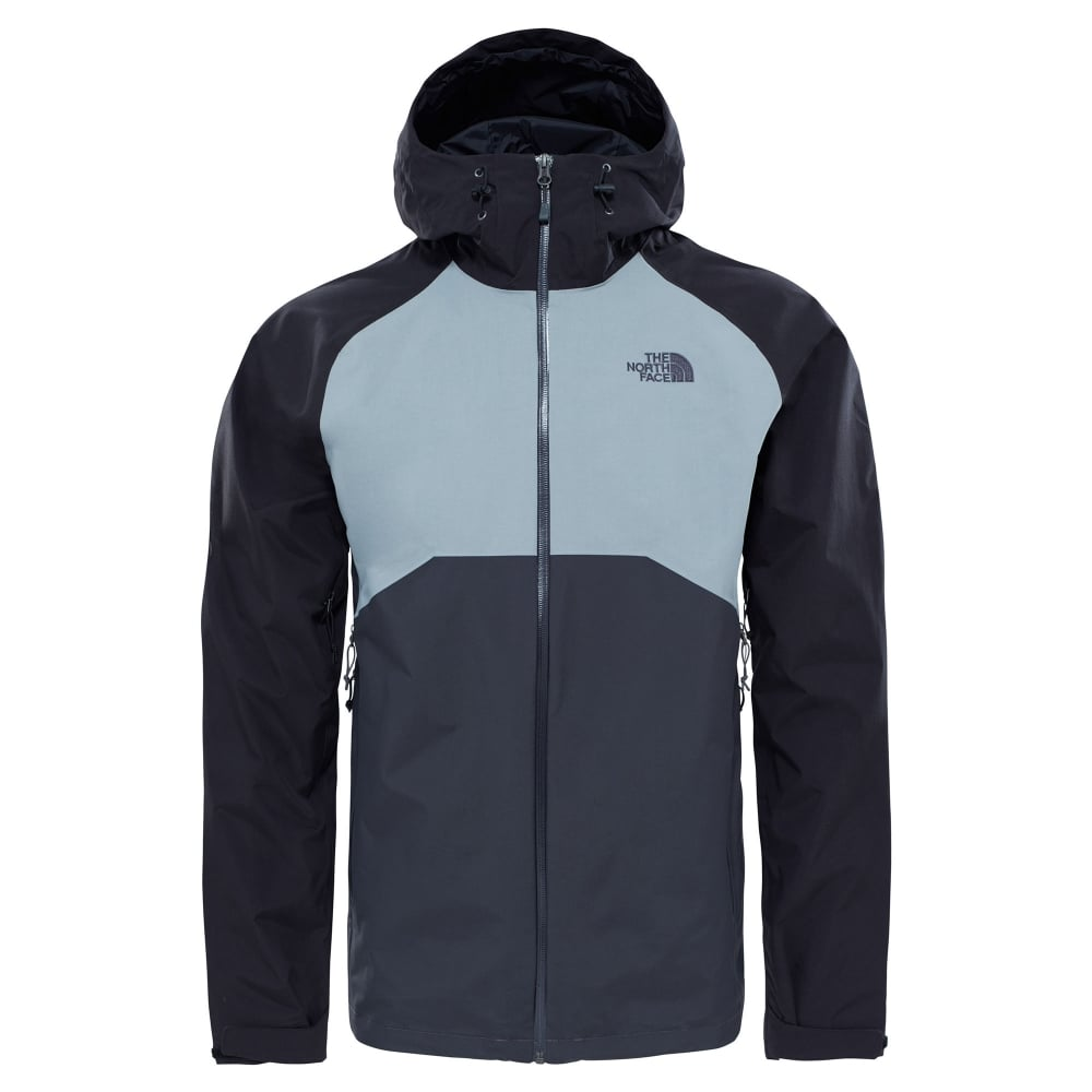 4cd0194dc The North Face Mens Stratos Jacket Asphalt Grey/Black