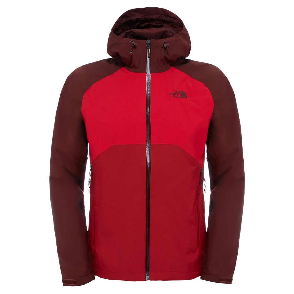 6bf548a2f642 The North Face Mens Stratos Jacket Cardinal Red - Mens from Great ...