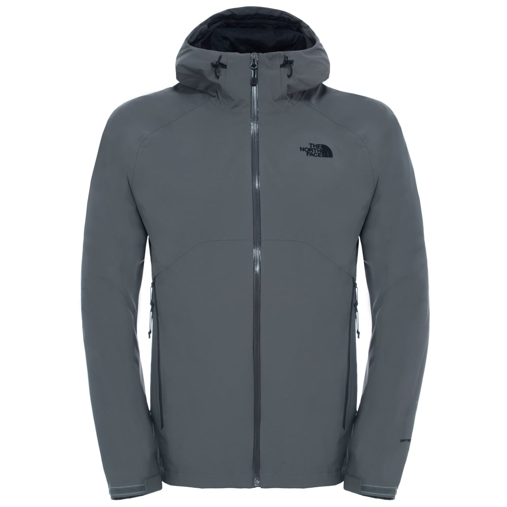 92c49ead2504 The North Face Mens Stratos Jacket Fusebox Grey - Mens from Great ...
