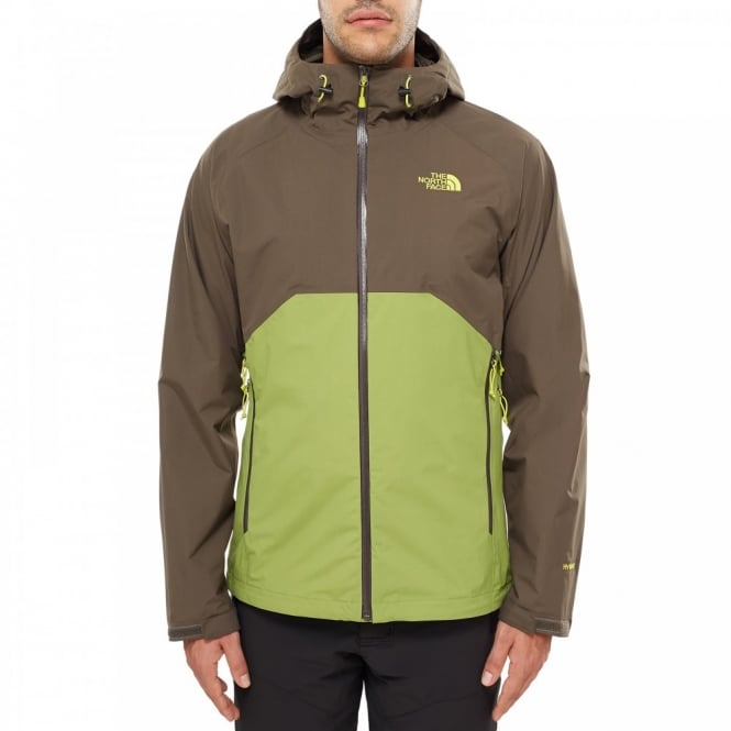 48d6e60d5e5f The North Face Mens Stratos Jacket Grip Green
