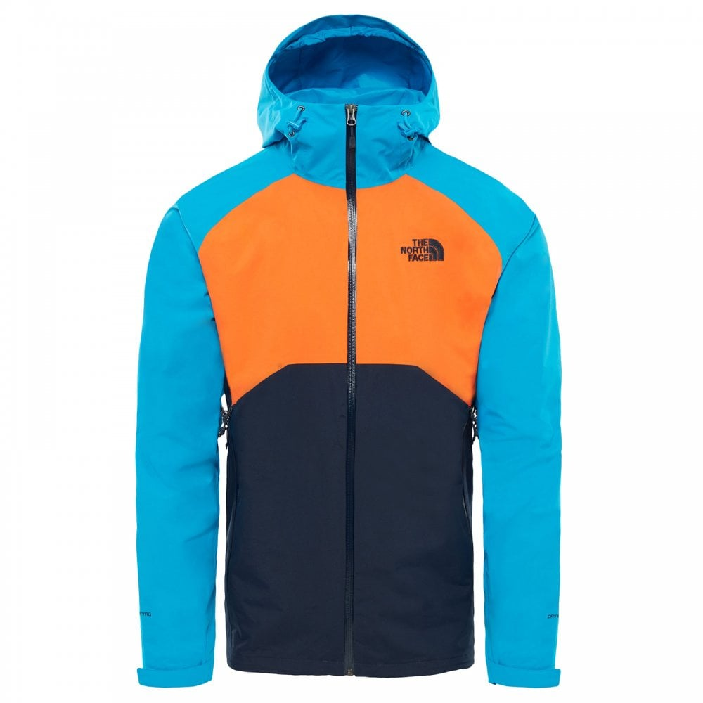 95fb4afa7 Mens Stratos Jacket Urban Navy/Hyper Blue