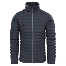 Mens Thermoball Full Zip Jacket Black/Fusebox