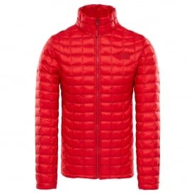 Mens Thermoball Full Zip Jacket High Risk Red
