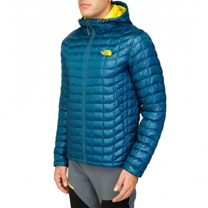 b3451b9590753 The North Face Mens Thermoball Hooded Jacket Monterey Blue - Mens ...