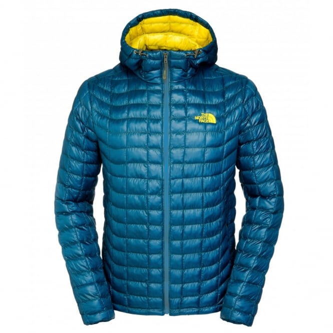 The North Face Mens Thermoball Hoodie Monterey Blue Mens