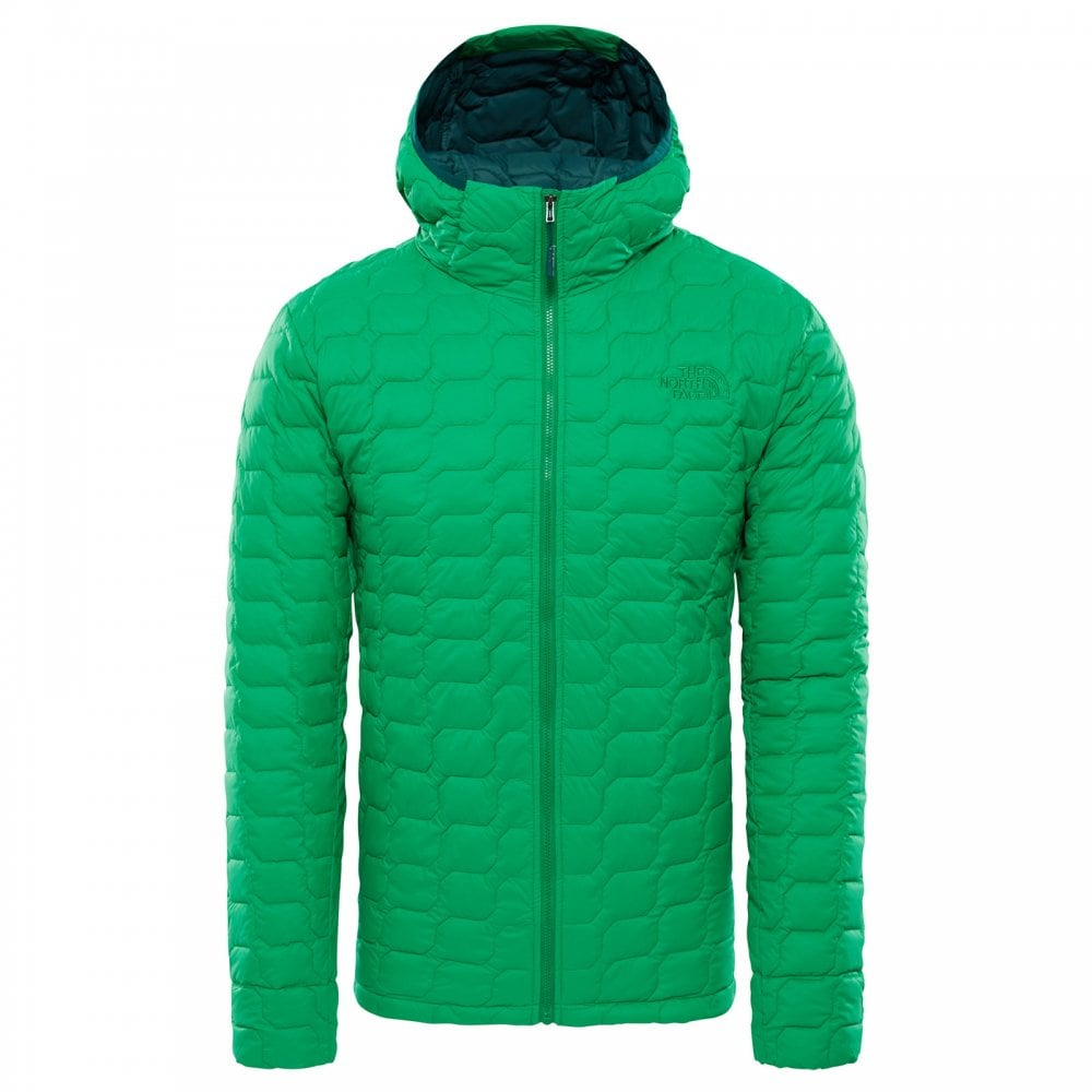 2d23a00bd2 The North Face Mens Thermoball Hoodie Primary Green Matte - Mens ...