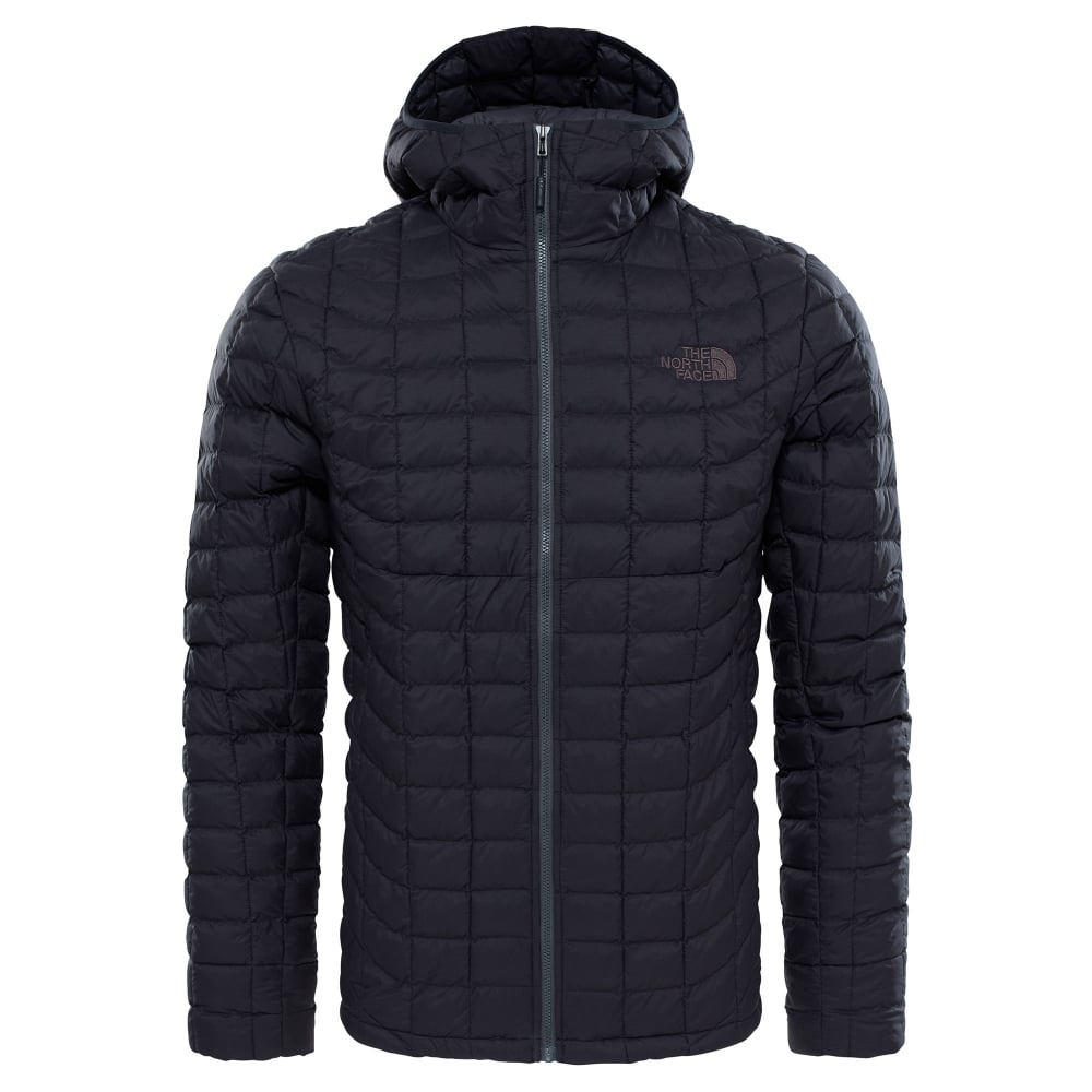 Tnf Hoodie From Face Black Mens North The Thermoball Matte wTgvqX