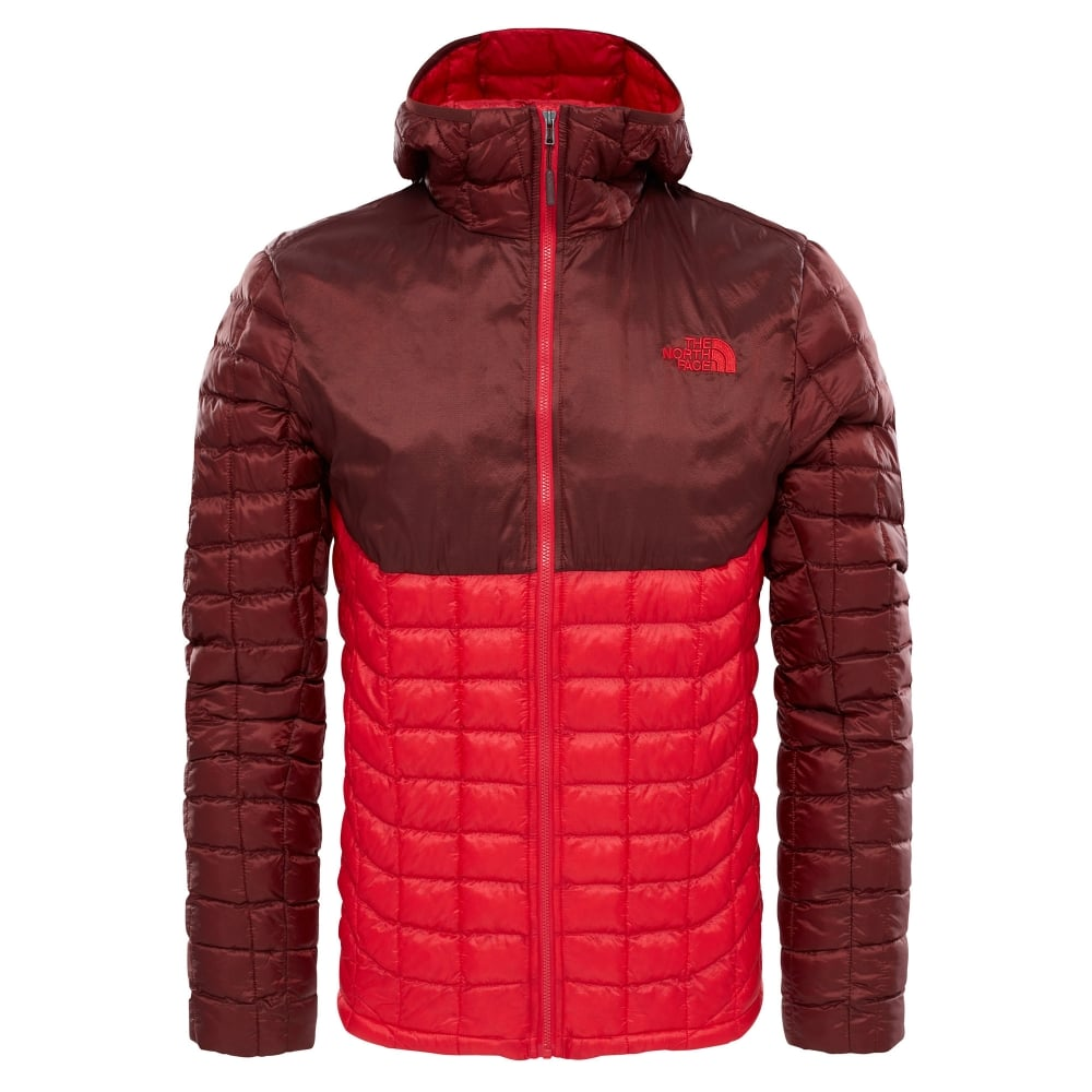 The North Face Mens Thermoball Hoodie TNF Red Sequoia Red 8bc941dd2