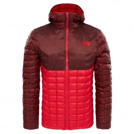 Mens Thermoball Hoodie TNF Red/Sequoia Red