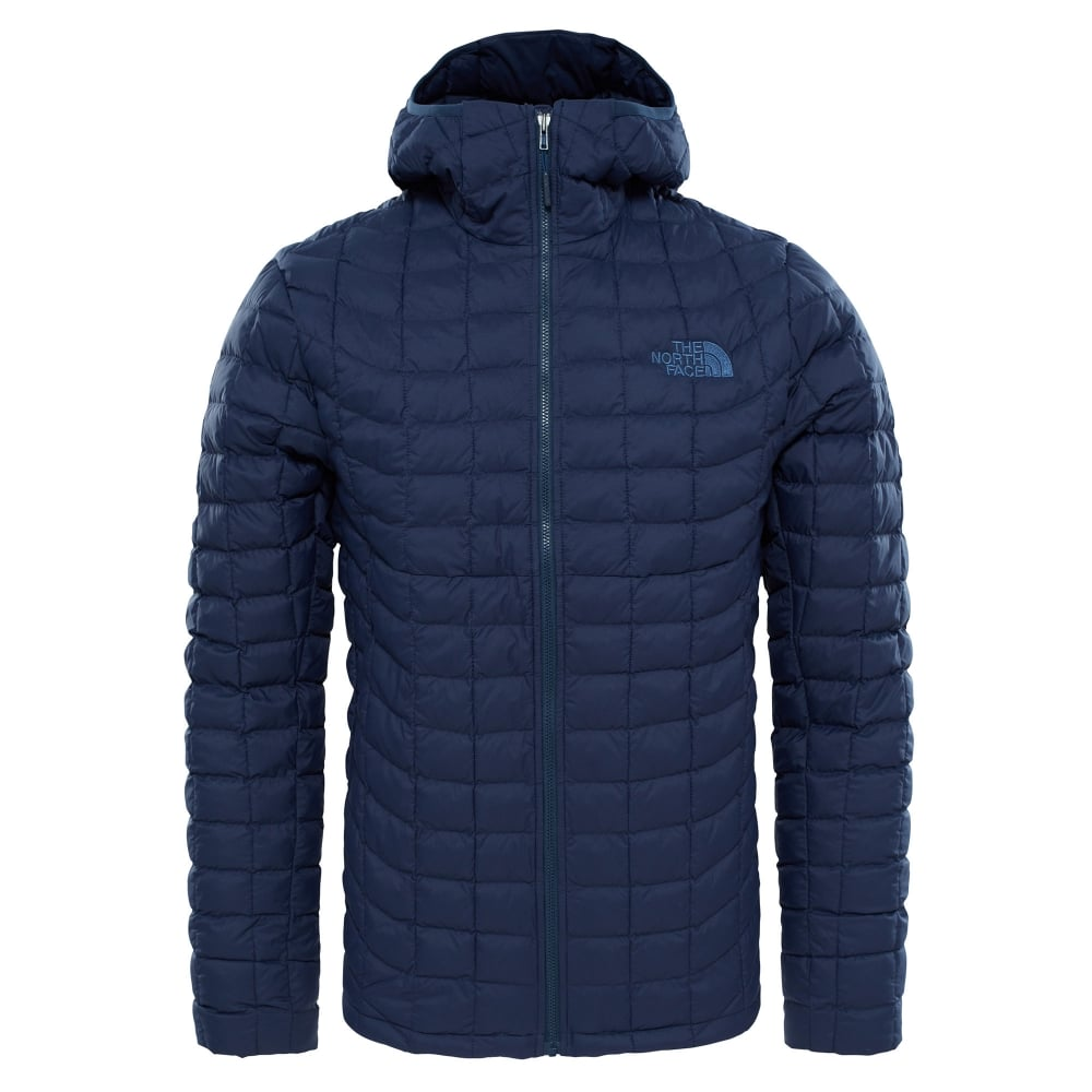 The North Face Mens Thermoball Hoodie Urban Navy Matte