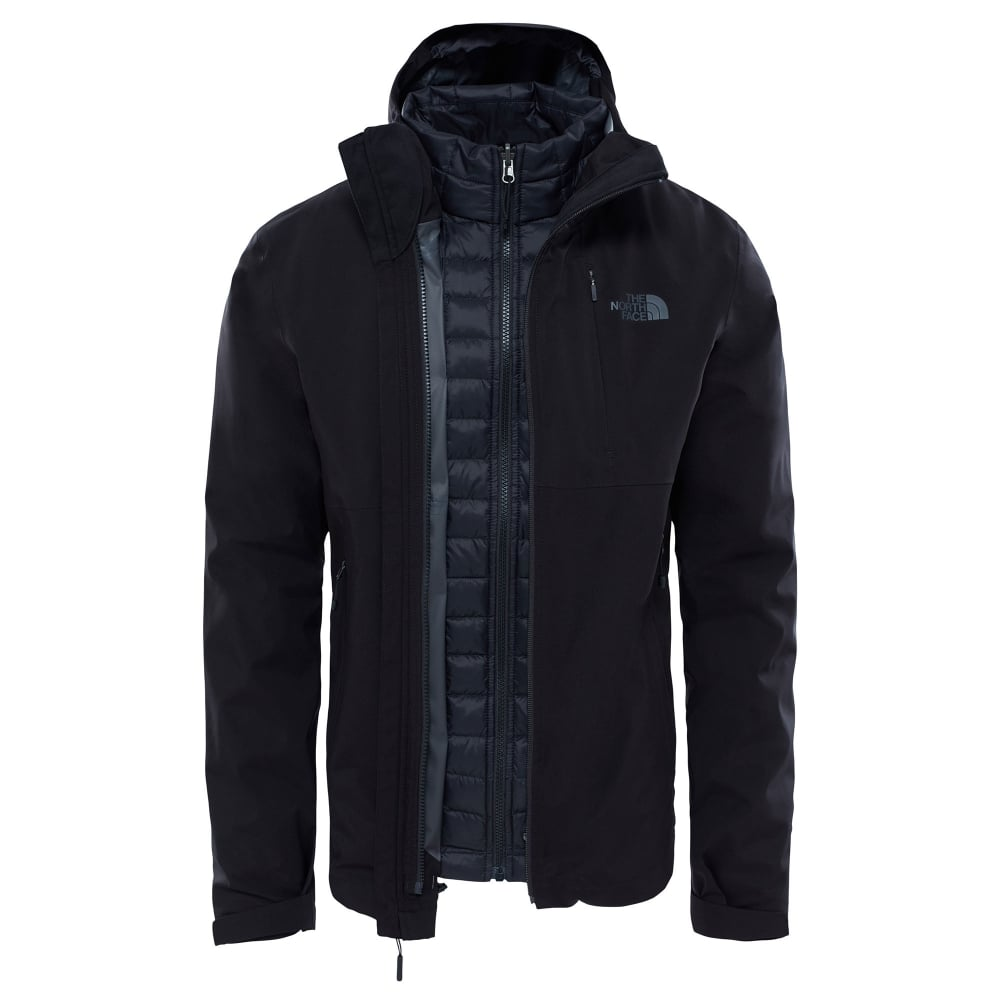 The North Face Mens Thermoball Triclimate Jacket TNF Black - Mens ... 93aa4de0f0