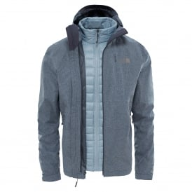 Mens Thermoball Triclimate Jacket TNF Dark Grey