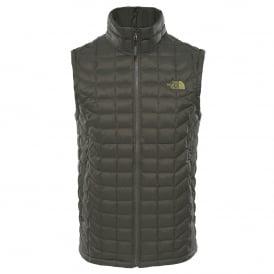 Mens Thermoball Vest Grape Leaf Matte