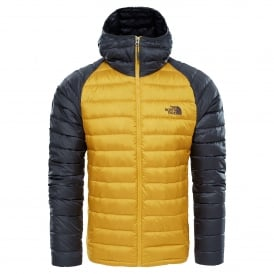 Mens Trevail Hoodie Yellow