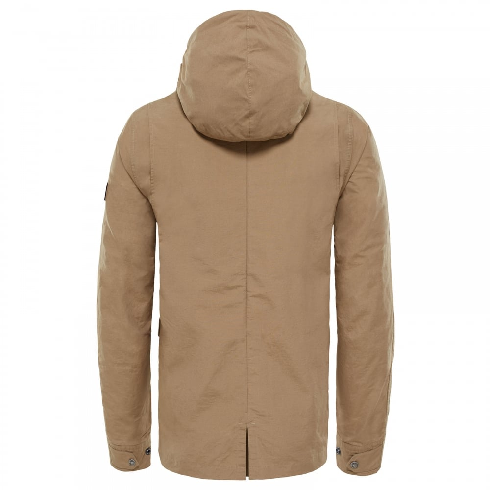 The North Face Mens Wax Canvas Utility Jacket Kelp Tan - Mens from ... fa6223230