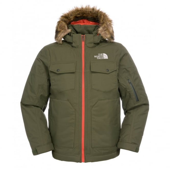 684979af1be The North Face Mens Yellowband Parka Fig Green