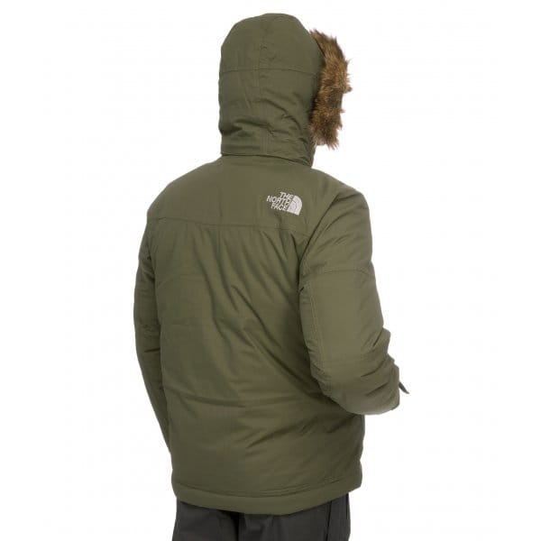 The north face mcmurdo parka jacket fig green
