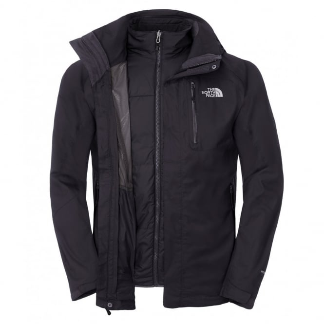 49c804f5b The North Face Mens Zenith Triclimate Jacket TNF Black