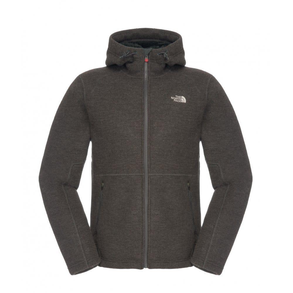 Heather Grey Zermatt Full Zip Hoodie Jacket