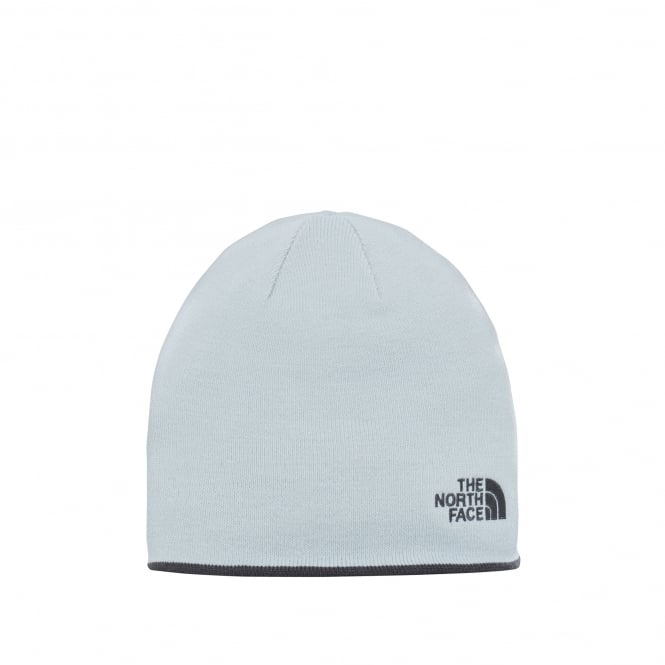 5badc393542 The North Face Reversible Banner Beanie Graphite Grey High Rise Grey ...