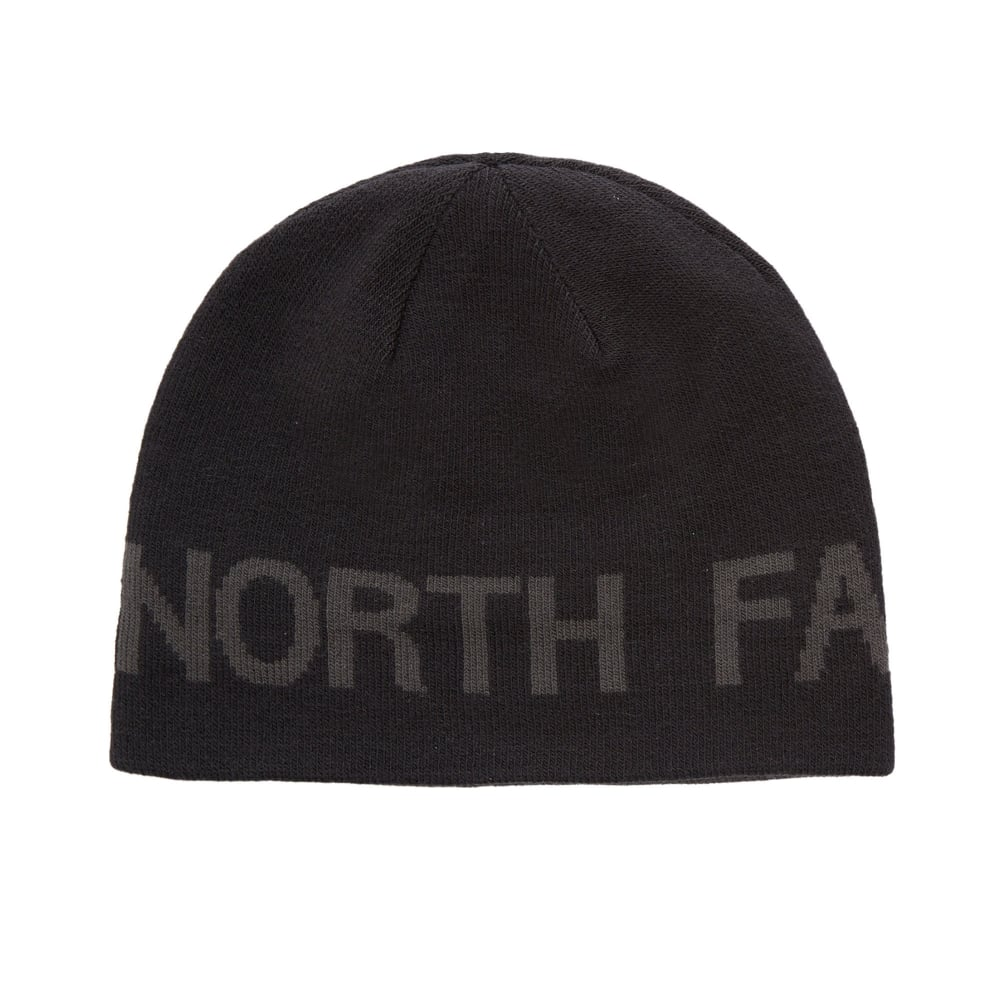 The North Face Reversible TNF Banner Beanie Black - Mens from Great ... f3711115510