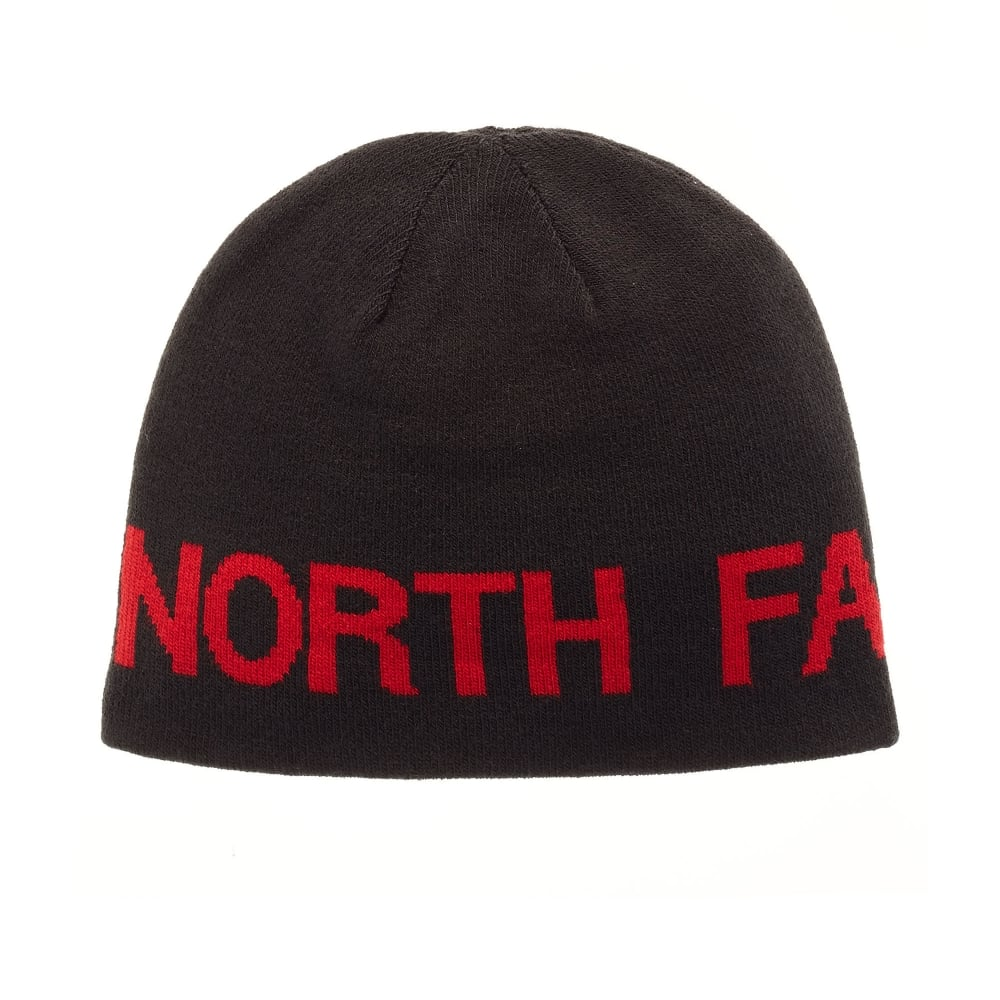 17abb10bf633f The North Face Reversible TNF Banner Beanie TNF Black TNF Red - Mens ...