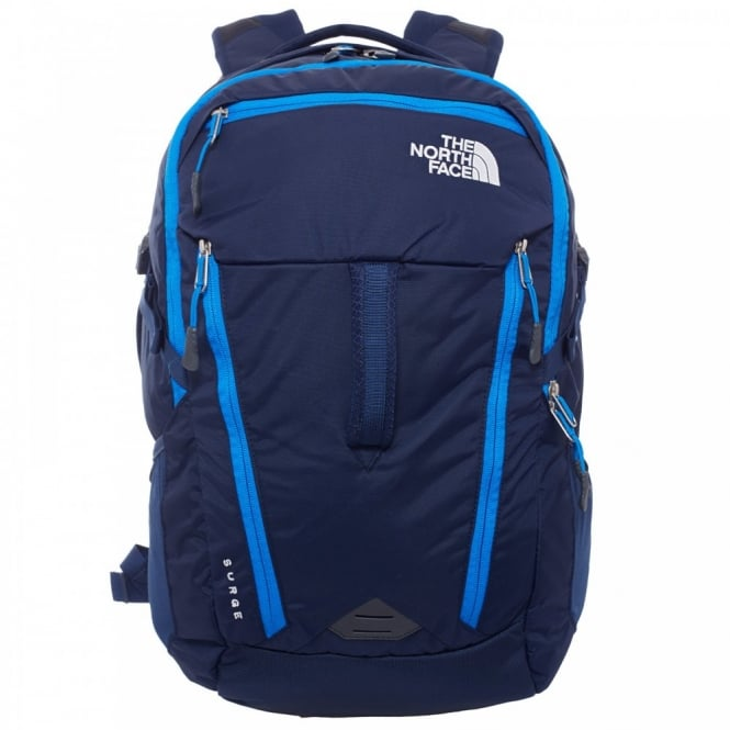 The North Face Surge Rucksack Cosmic Blue Rucksacks From Great Outdoors Uk