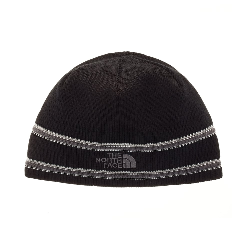 0268b335 The North Face TNF Logo Beanie Black/Graphite Grey - Mens from Great ...