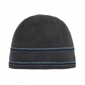 TNF Logo Beanie Graphite Grey/Urban Navy