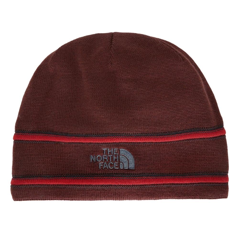 78e5be0b7 TNF Logo Beanie Sequoia Red/Asphalt Grey