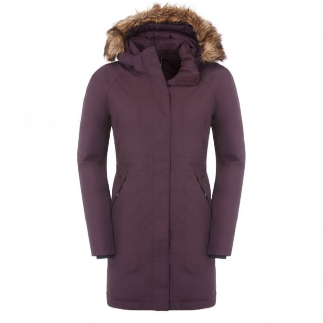 The North Face Womens Arctic Down Parka Baroque Purple