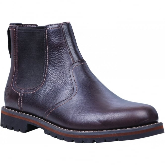 ba76ed62f307 Timberland Mens Larchmont Chelsea Dark Brown - Footwear from Great ...
