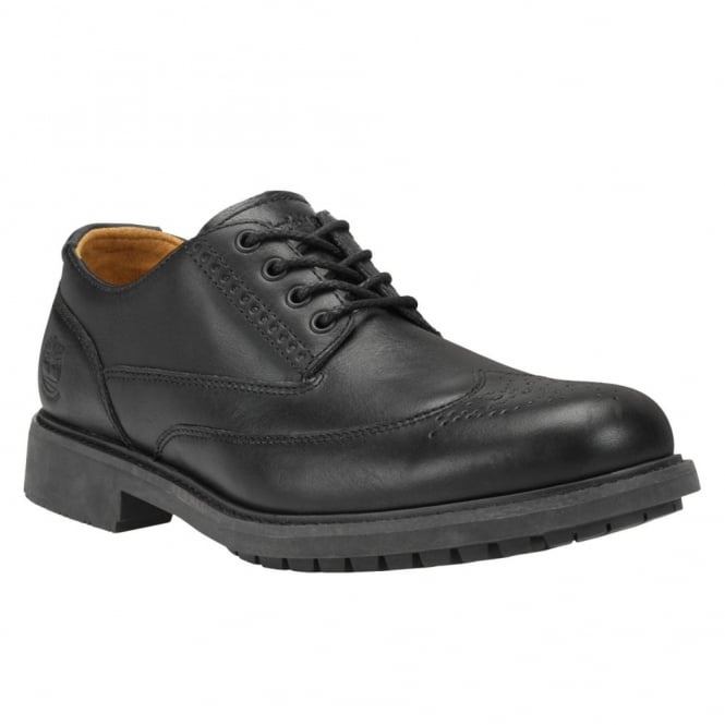 Adelantar Filosófico crecimiento  Timberland Mens Stormbuck Brogue Shoe Black - Footwear from Great Outdoors  UK