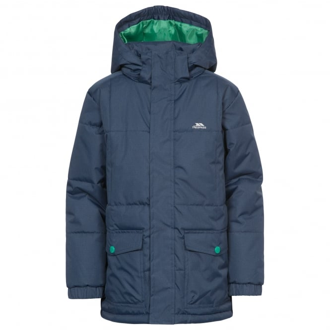 Trespass Boys Longton Jacket Navy